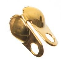 Endkappe für Kugelketten, ab Durchmeser 1,5 mm, goldfarben
