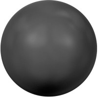 Swarovski Crystal Pearl, rund, 12 mm, mystic black