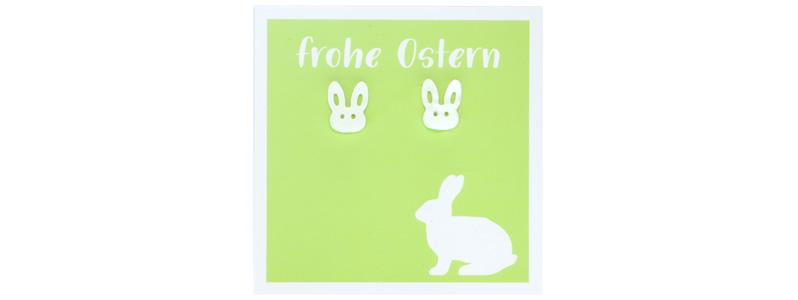 Osterschmuck Ohrstecker Hase