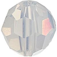 Swarovski Elements, rund, 6 mm, white opal