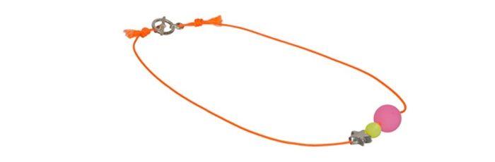 Kette Neon Orange