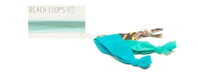 Beach Loops Meerblau-Mix