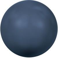 Swarovski Crystal Pearl, rund, 6 mm, night blue