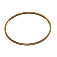 CM Metallanhänger Kreis, 25 x 1 mm, goldfarben