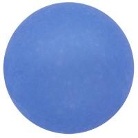 Polarisperle, rund, ca. 16 mm, capri blue