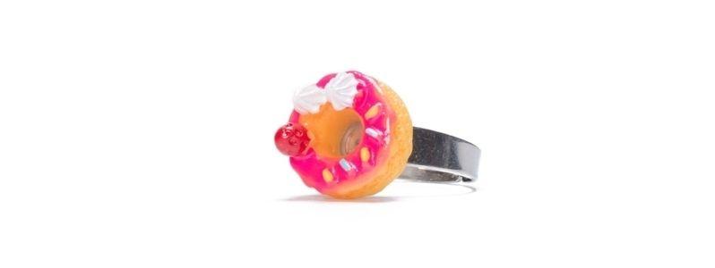 Ring Erdbeer-Donut
