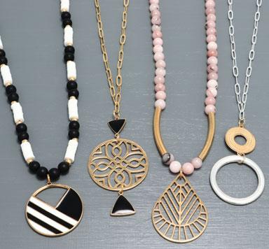 New Geometric - Geometrische Halsketten