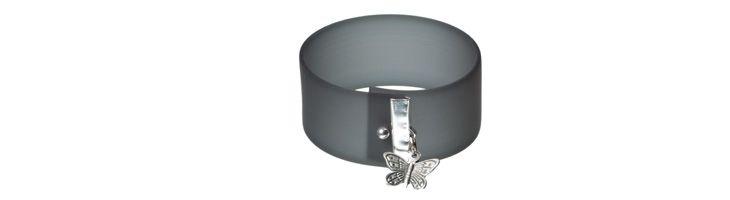 Druckknopfarmband Butterfly