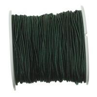 Gummikordel, Durchmesser 1,0 mm, Länge 20 m, dunkelgrün