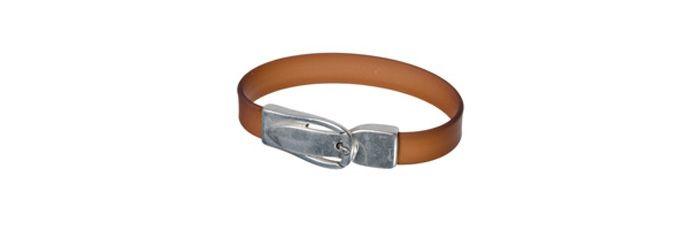 Armband Brauner Gürtel