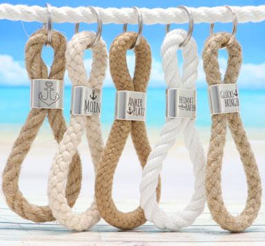 Zwischentücke für Segeltauschlüsselanhänger