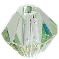 Swarovski Elements Bicone, 4 mm, chrysolite