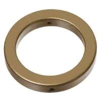 Metal-Effect-Element Ring 32 mm, goldfarben matt