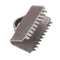 Bandklemme für flaches Band, 10 mm, versilbert