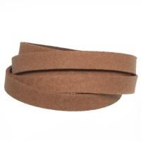 Craft Lederband, 10 mm x 2 mm, Länge 1 m, Camel
