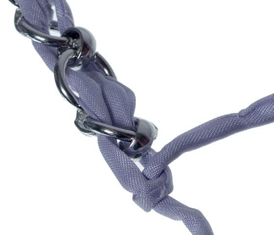 Geflochtenes Seidenarmband selber machen Schritt 10
