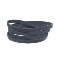 Craft Lederband, 5 mm x 1,5 mm, Länge 1 m, Navy