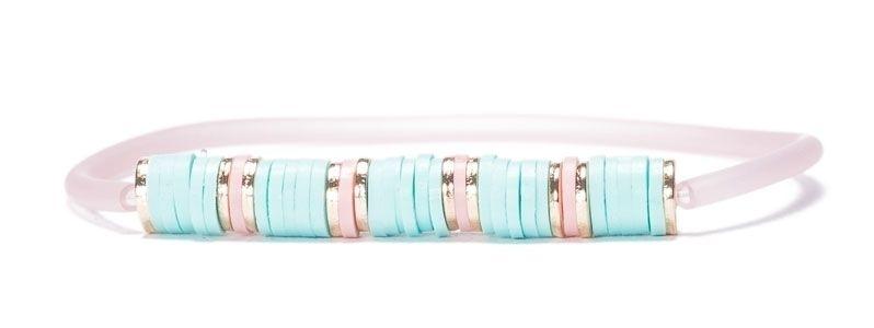 Armband mit Katsuki Perlen und Schlauch