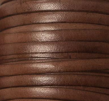 Lederband, 5 x 2 mm flach