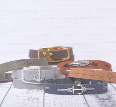 Craft Lederbänder 10 mm und Zubehör