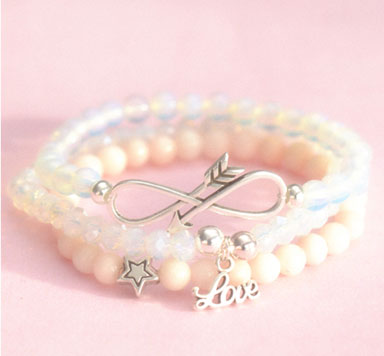 Armbänder -Pretty in Pink