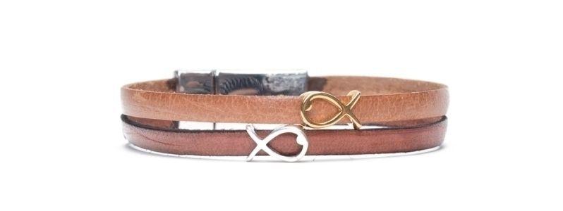 Armband  mit Mini-Sliderperlen Fische