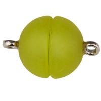 Polaris-Verschluss matt, 12 mm, hellgrün