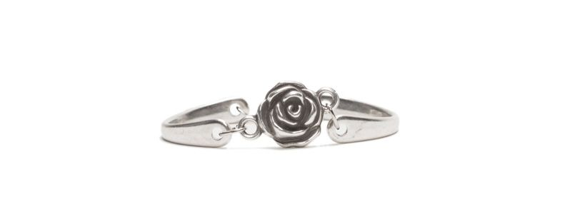 Metall Armband Rose