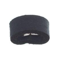 Craft Lederband Schlaufe, 16 mm x 8 mm, Navy