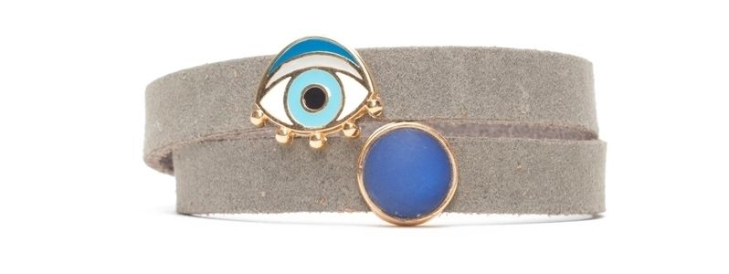 Craft Lederarmband Auge