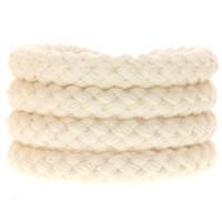 Segeltau Klassik, Durchmesser 8 mm, geflochten, Baumwolle, natur, Länge 1 m