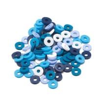 Katsuki Mix, 6mm, Blue Jeans, ca. 100 Stück