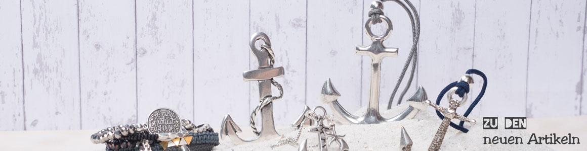 Ideen für frische Metallperlen und Metallanhänger