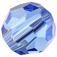 Preciosa Round Bead/Kugel, 6 mm, sapphire
