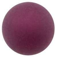 Polaris-Perle, 6 mm, rund, dunkellila