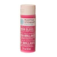 Martha Stewart Multi Surface Acryl-Farbe, amaranth, 59 ml