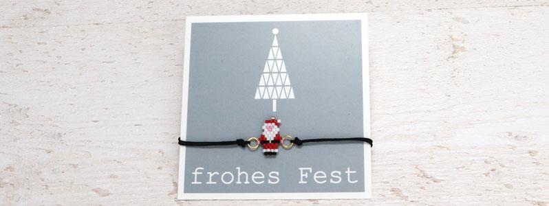 Weihnachtarmband mit Weihnachtsmann