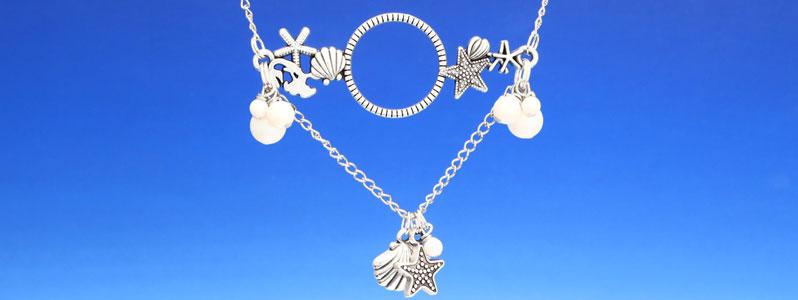Kette für Meerjungfrauen mit Crystal Pearls