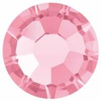 Preciosa Flat Back Stone Rose Maxima SS16 (ca. 4 mm), rose DF (Dura Foiling)