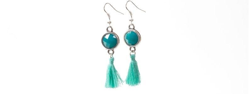 Gypsy-Ohrringe Emerald