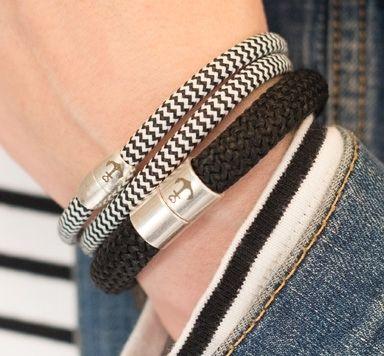 Schmuckanleitungen für Armbänder mit Segelseil und Magnetverschluss