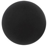 Polaris Kugel, 4 mm, matt, schwarz