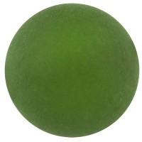 Polarisperle, rund, ca. 8 mm, dunkelgrün
