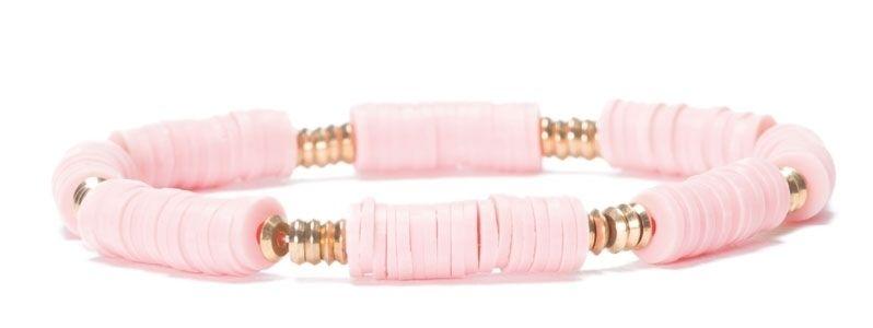 Armband mit Katsuki Perlen Rosa
