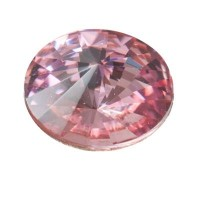 Swarovski Rivoli (1122), SS39 (ca. 8 mm), light rose
