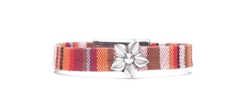 Armband mit Screws Blüte Ethnoband