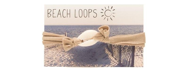 Beach Loop Muschel Hellbraun