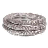 Segelseil / Kordel, Durchmesser 10 mm, Länge 1 m, grau