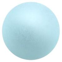 Polarisperle, rund, ca. 8 mm, aqua