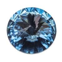 Swarovski Rivoli (1122), 12 mm, denim blue